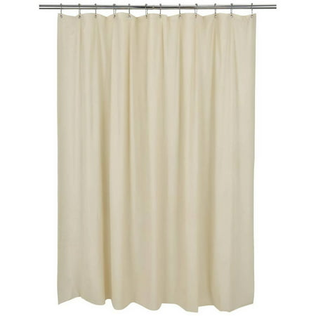 Bath Bliss Mildew Resistant Shower Curtain Liner Beige