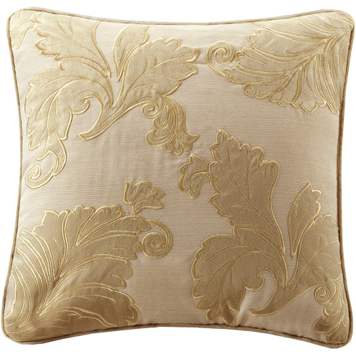 Better Homes&gardens Velvet Applique Square Pillow