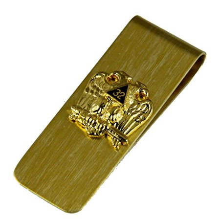 32nd Degree Scottish Rite Money Clip Mason Freemason Masonic Dollar Bill