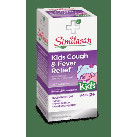 Similasan Kids Nighttime Cough & Cold Relief Plus Echinacea Liquid, 4 Fl