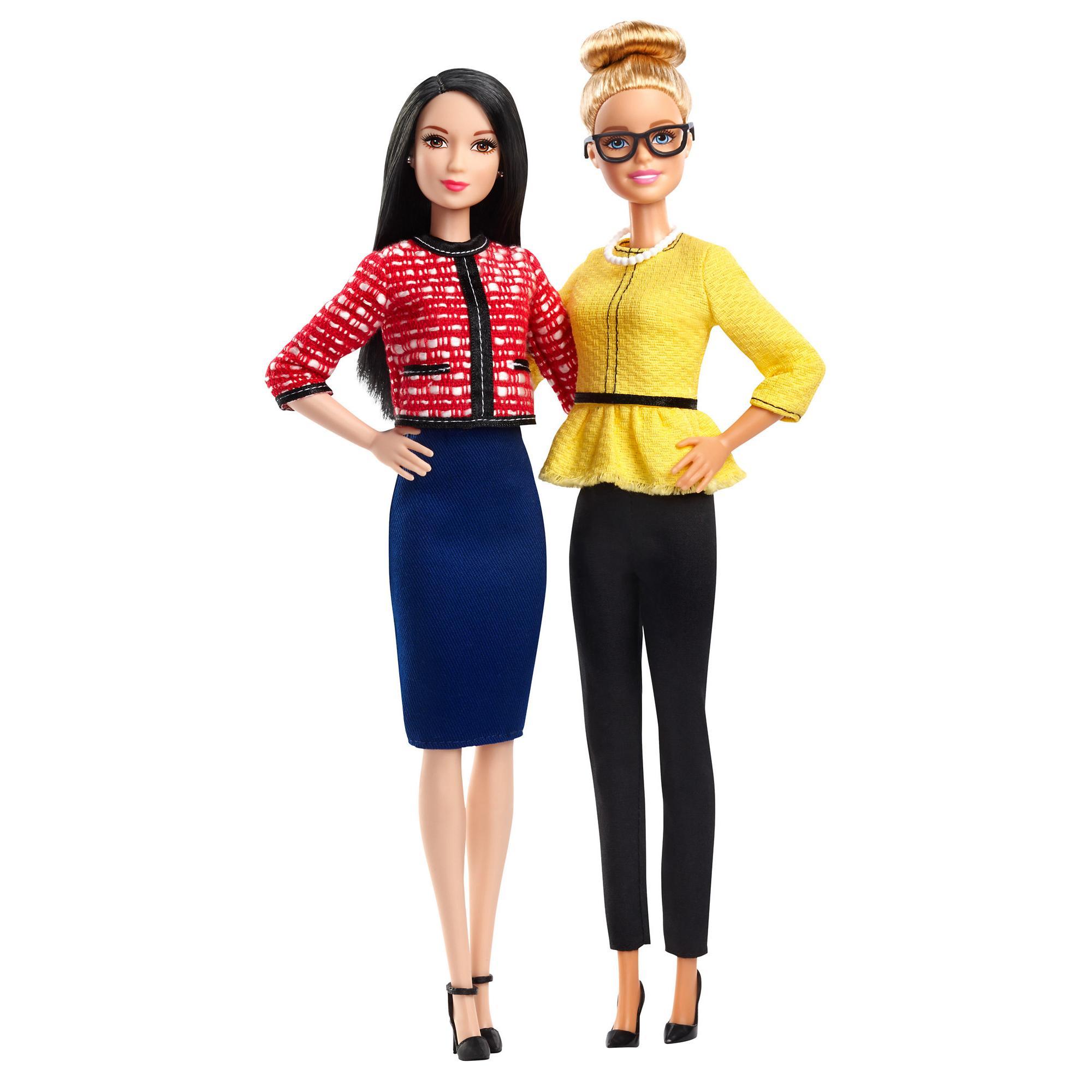 Barbie Careers President & Vice President Dolls