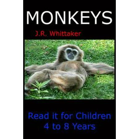 Monkeys (Read it book for Children 4 to 8 years) - eBook (Year Monkey)