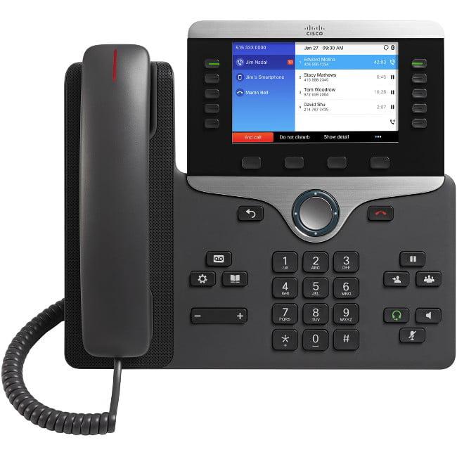 Cisco Ip Phone 8851 Multiplatform W/ Pwr Cube4 Na Cord