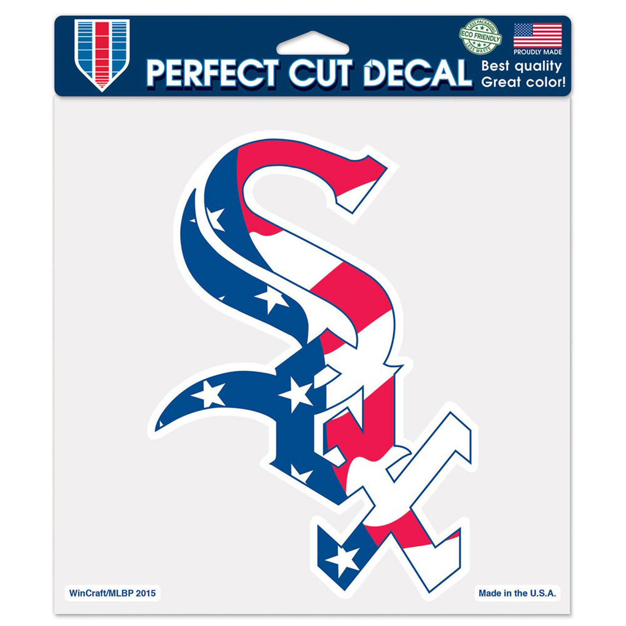 "Chicago White Sox WinCraft Patriotic 8"" x 8"" Color Decal - No Size"
