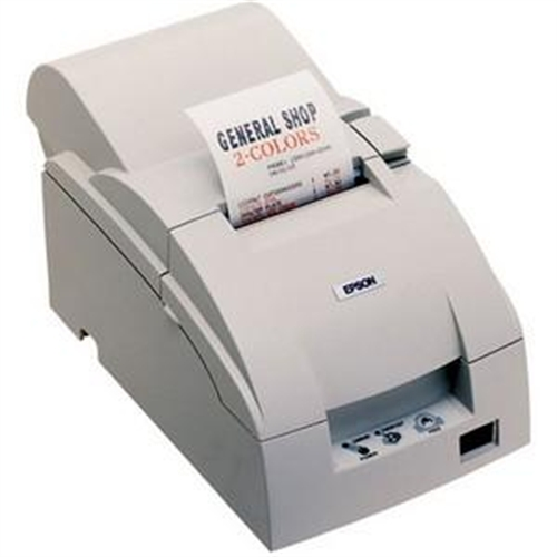 Epson TM-U220B, Impact, two-color printing, 6 lps, Parallel, Cutter, Solid Cover, Power supply (Part#