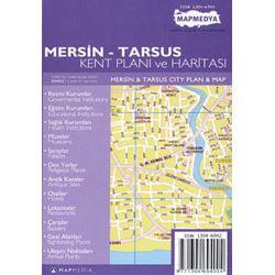 Mersin-Tarsus Kent Planı ve Haritası (Mersin and Tarsus City Plan and Map)