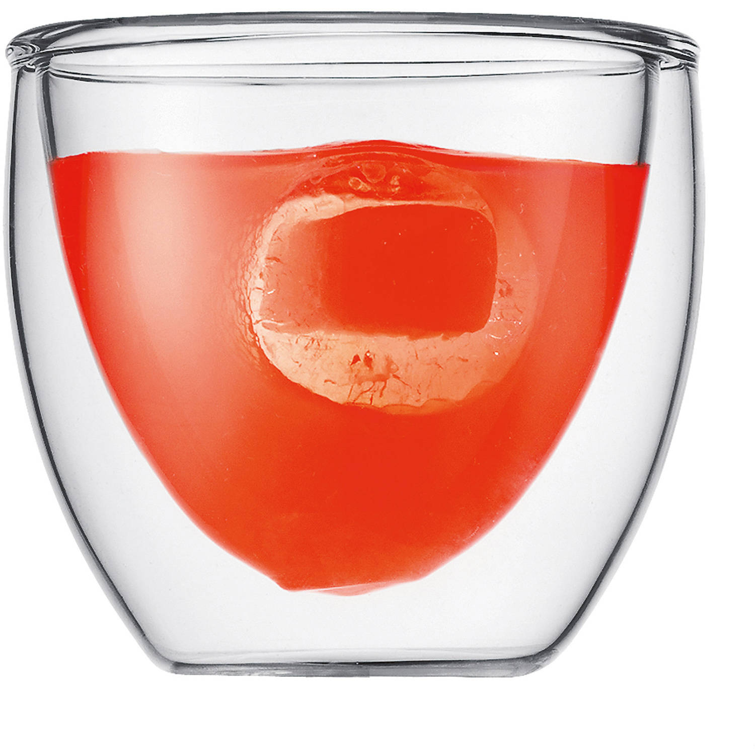 Bodum PAVINA Double Wall Glasses, Extra Small, .08 L, 2.5 Ounce (Set of 2)