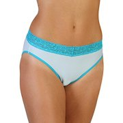 ExOfficio Give-N-Go Lacy Bikini Brief - Women's Splash, XXL