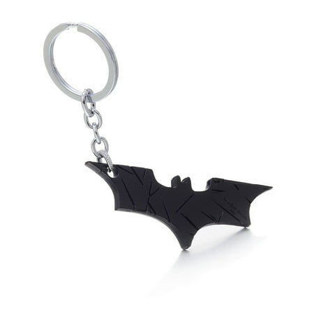 Super Hero Dark Knight Batman Bat Metal Ring Keychain Pendant Key Chain