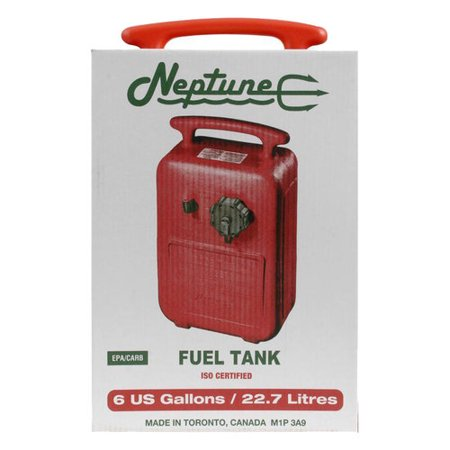 Neptune 6-Gallon Fuel Tank, Red