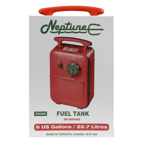 Neptune 6-Gallon Fuel Tank, Red