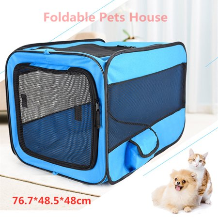Portable Soft Pet Crate or Kennel for Dog, Cat, or other small pets. Great for Indoor and Outdoor