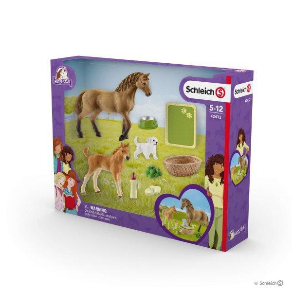 42432 SCHLEICH Horse Club Sarah's Baby animal care Horse Club Plastic Figure