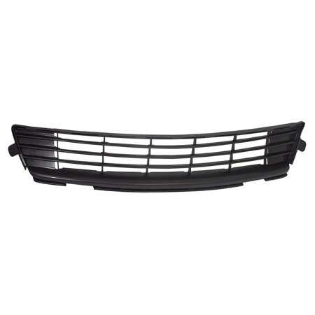 Front Lower Center Bumper Grille Textured Black Replacement for Toyota Corolla 53112-02280 ()