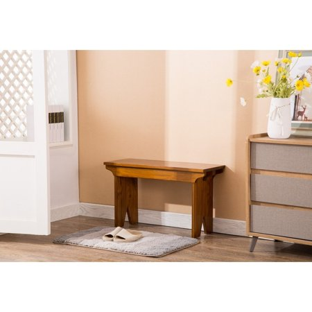Porthos Home Provence Indoor Wood Bench/TV Wood Bench/Accent Bench, Great  For the Living Room And Bedroom (Crafted From Solid Pine Wood) - Walmart.com