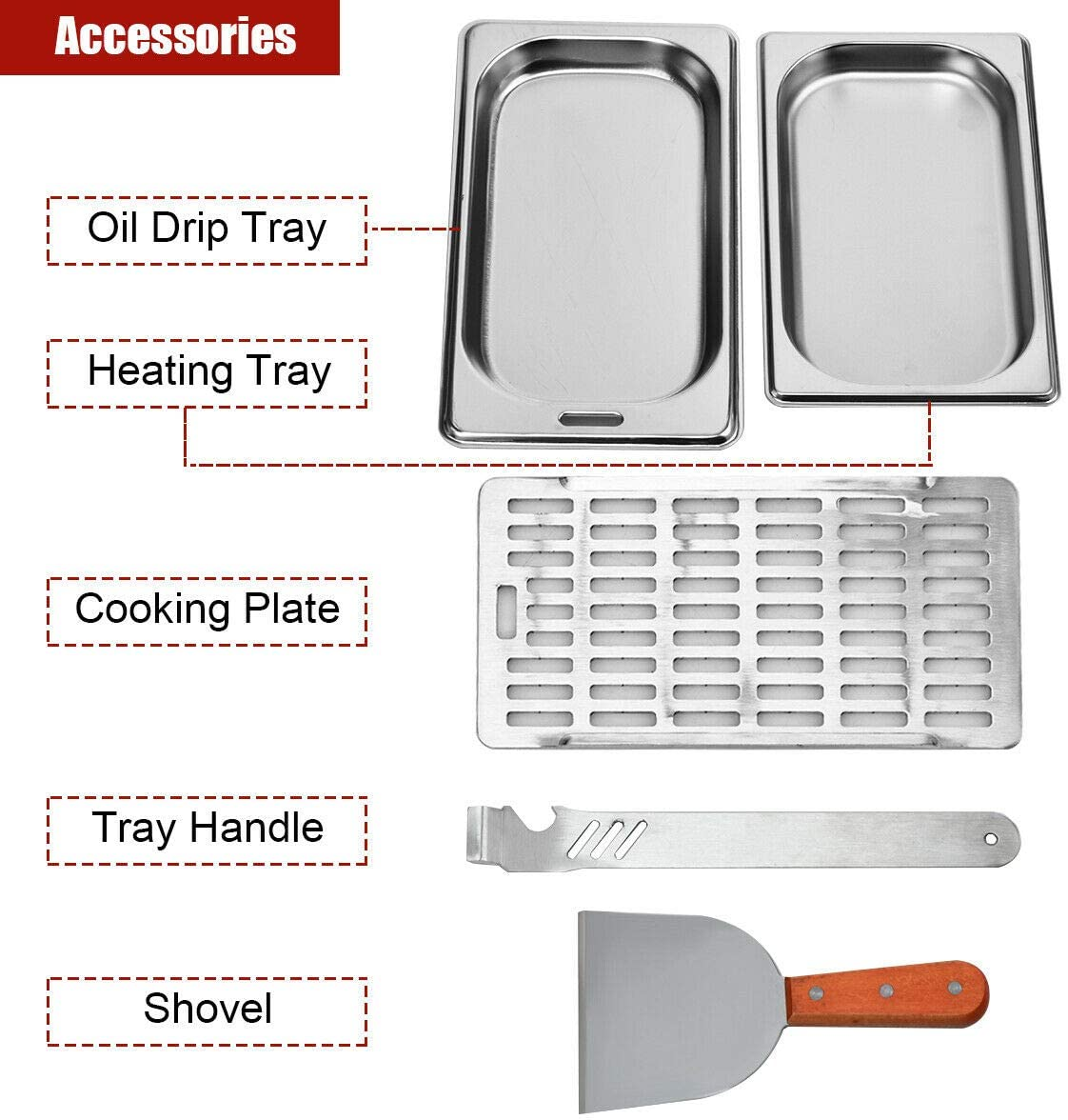 Gas Cylinder Connection CSA//ETL Certificated Stainless Steel 1500℉ of Intense Heat COSTWAY Propane Steak Infrared Grill for Tailgating 7000 BTU Compact Outdoor Grill Machine Large Heating Place