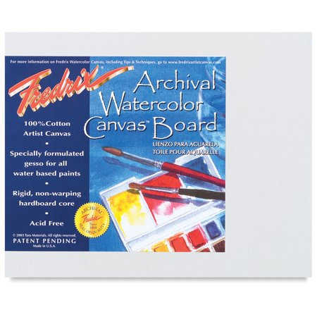 Fredrix Archival Watercolor Canvas (Fredrix Archival Watercolor Canvas Boards)
