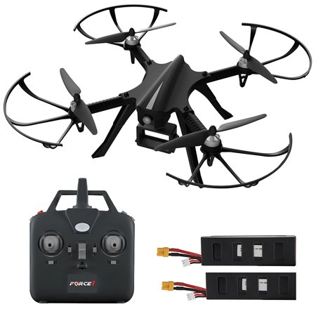 force1 f100 gopro drone  go pro drone camera w/ brushless motors & long flight time  hero 3 & hero 4 compatible hero drone