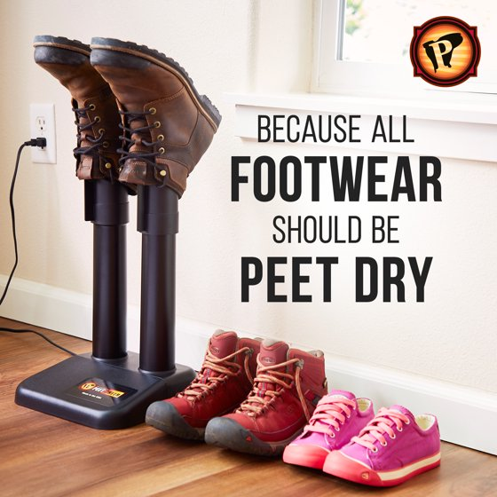 Peet Electric Thermal Boot Dryer Black Walmartcom
