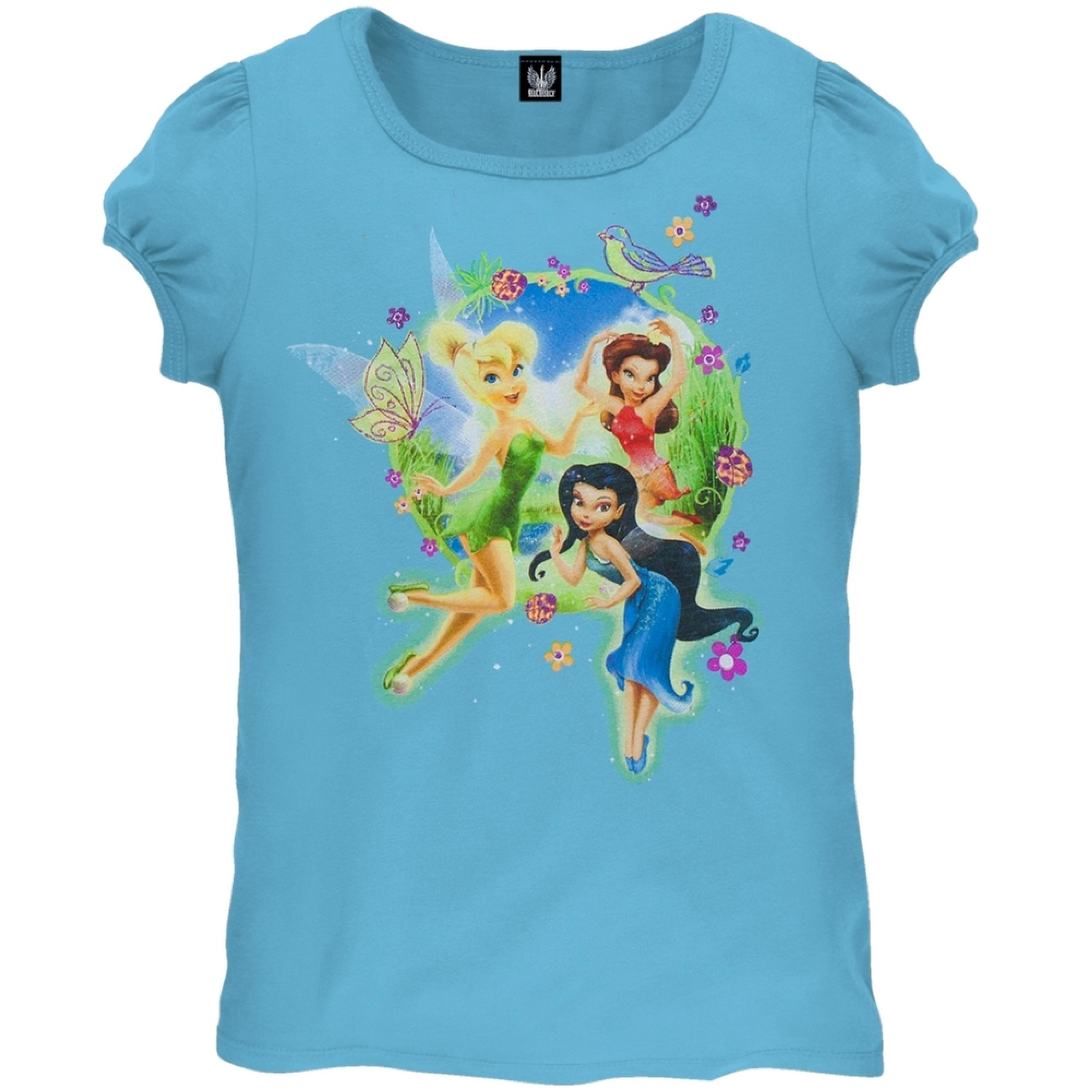 Disney Fairies - Circle Scene Girls Juvy T-Shirt