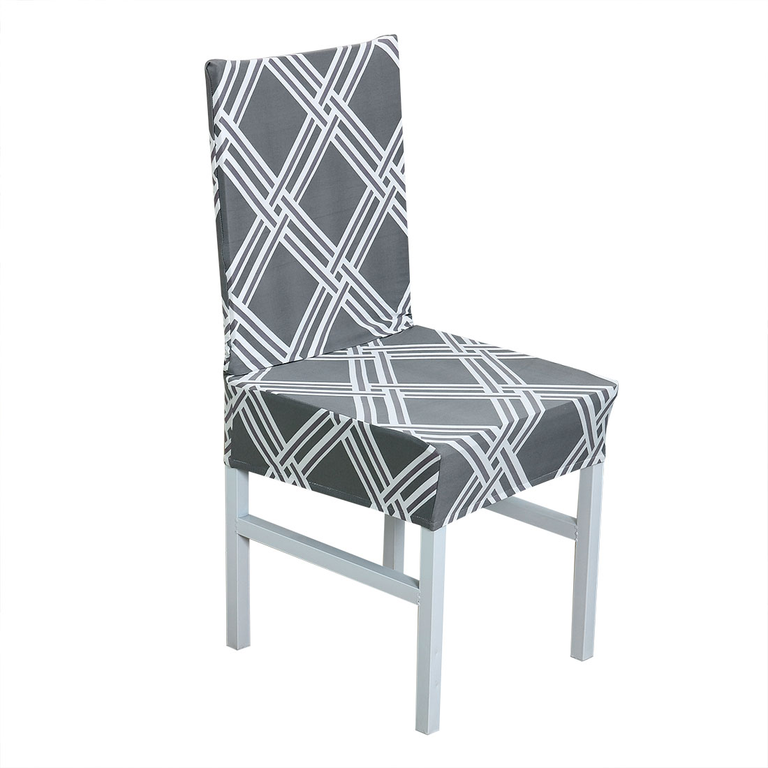 Removable Stretch Dining Chair Cover Protector Slipcover for Wedding Home, #19