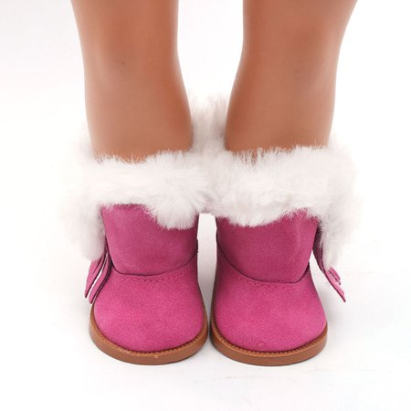 f79d7d4d9f3c Winter Glitter Doll Shoes For 18 Inch American Girl Doll Accessory Girl s  Toy - Walmart.com