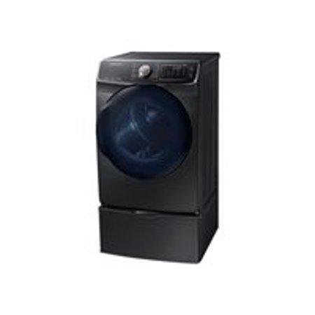 Samsung DV50K7500GV - Dryer - freestanding - width: 27 in - depth: 32.6 in - height: 38.7 in - front loading - black stainless