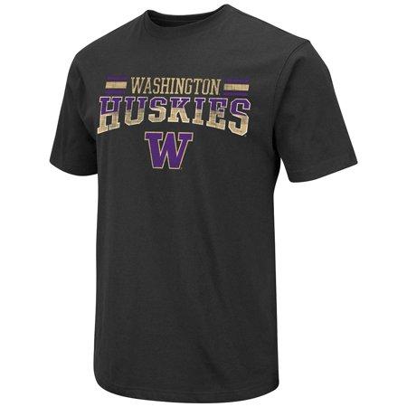 Washington Huskies Short Sleeve Cotton (Washington Huskies Beverage)