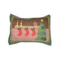 Santa By The Fireside Pillow Sham
