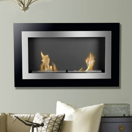 Ignis Products Villa Ventless Wall Mount Ethanol Fireplace