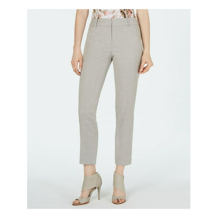 CALVIN KLEIN Womens Beige Wear To Work Pants Size 4P