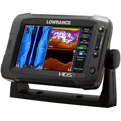 Lowrance Fishfinder HDS-7 Touch Generation 2 Insight������with Transducer