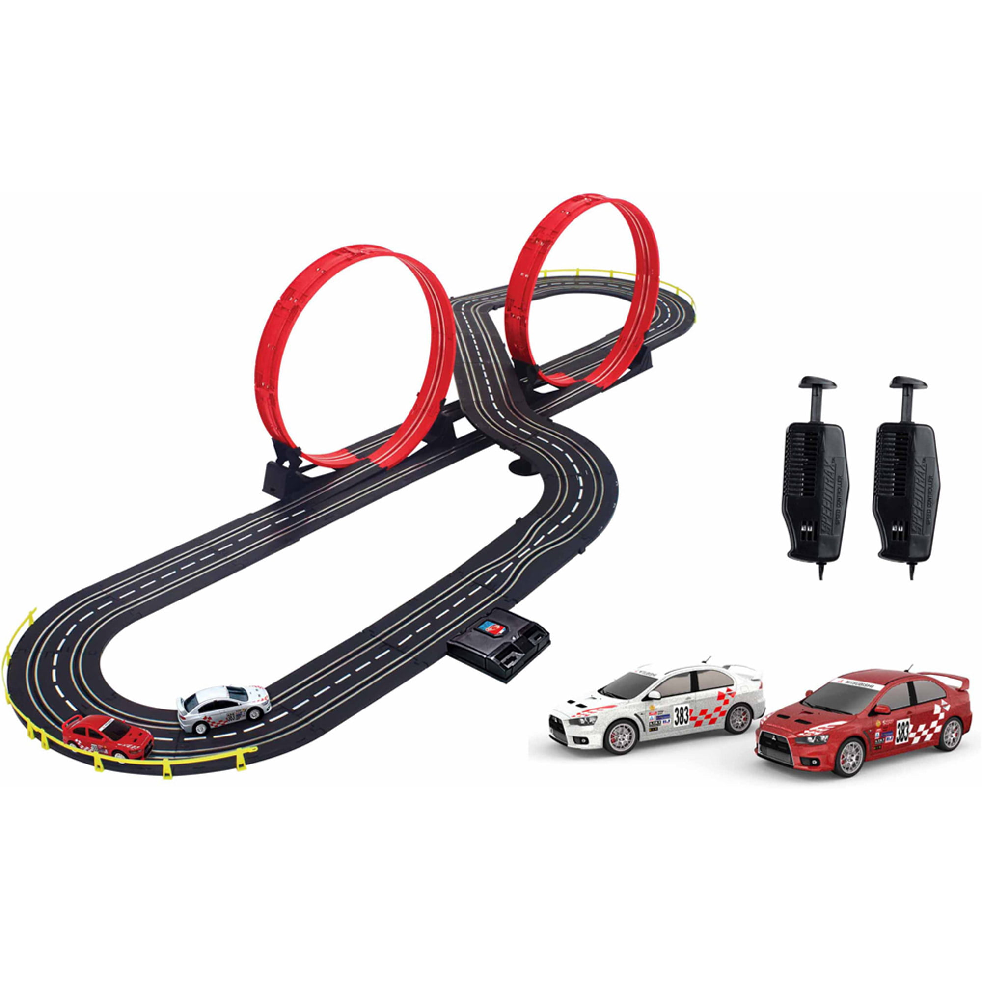 artin 143 scale ultimate express slot car racing set walmartcom