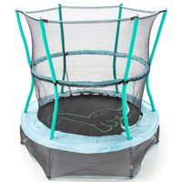 Skywalker Trampolines 55-Inch Bounce-N-Learn Trampoline, with Enclosure and Sound