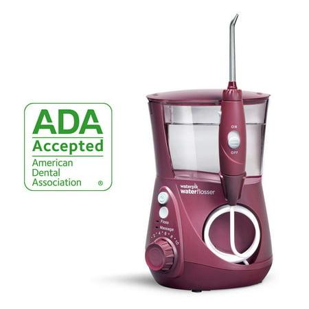 Waterpik Water Flosser Electric Dental Countertop Oral Irrigator for Teeth - Aquarius Professional, WP-669 Deep