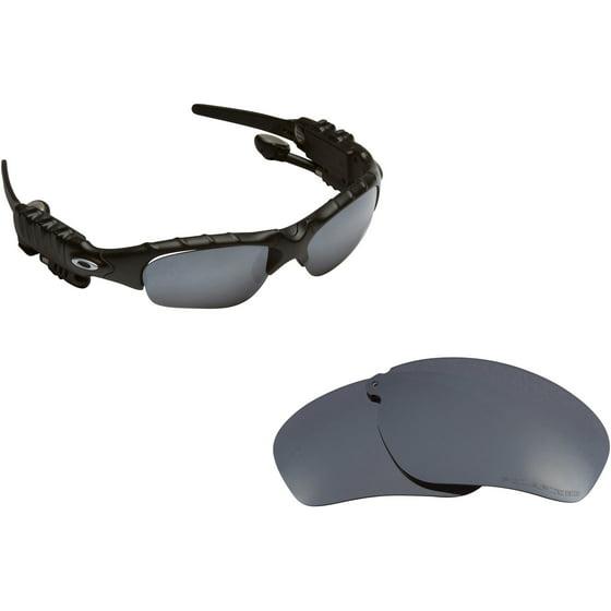 ostokset jaloissa online jälleenmyyjä THUMP Replacement Lenses Polarized Black Iridium by SEEK fits OAKLEY  Sunglasses