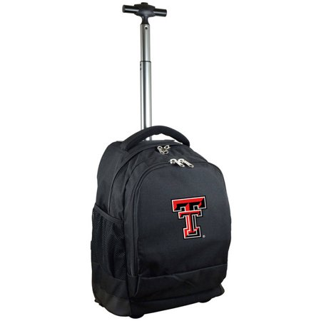Mojo Licensing Premium Wheeled Backpack - Texas Tech ()