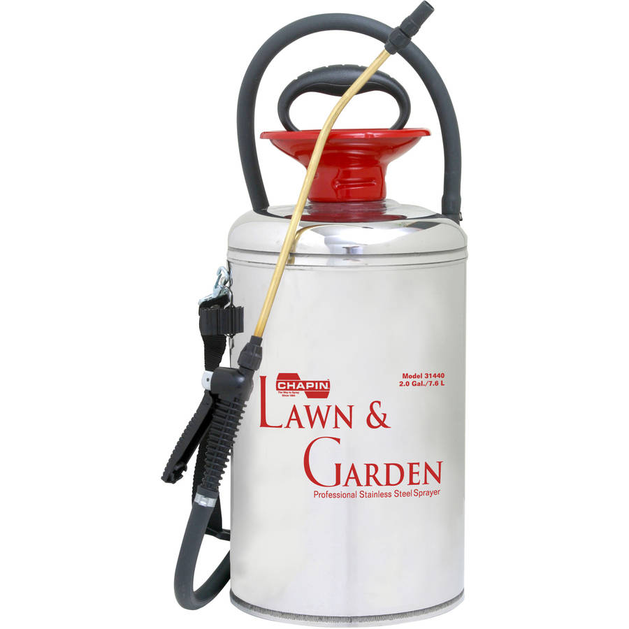 Chapin 31440 2-Gallon Lawn and Garden Series Stainless Steel Sprayer