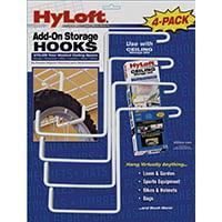 Knape & Vogt Mfg 00212 Hooks Garage Ceiling/Wall Wht