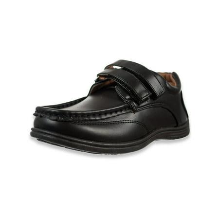 Danuccelli Boys' Dual Hook-and-Loop School Shoes (Sizes 10 - 4) ()