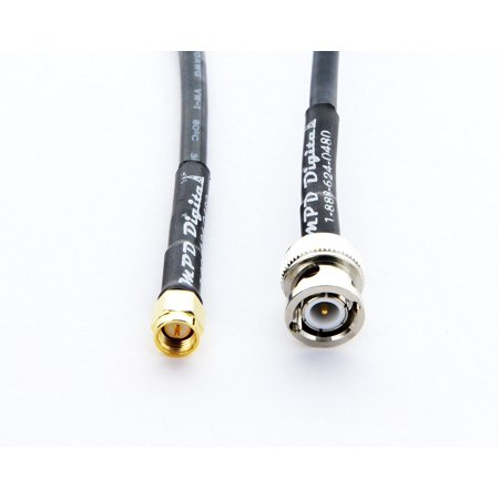 RF coaxial cable SMA male to BNC male RG58 3FT
