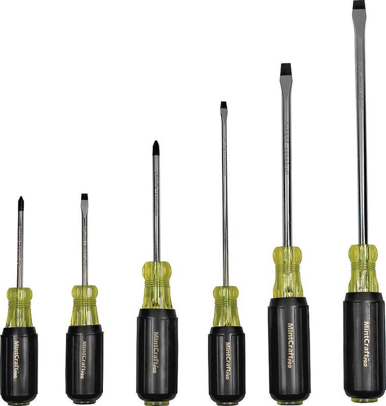 ProSource SD-SET-PVC Screwdriver Set, 6 Pieces