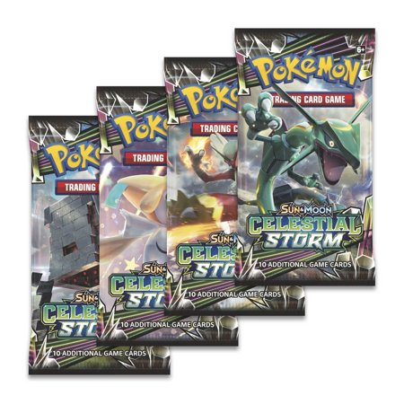 Giants Booster Pack - Pokemon Sun & Moon Celestial Storm Booster Pack, ONE RANDOM PACK