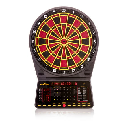 Arachnid Cricket Pro 300 Soft-Tip Electronic Dartboard Game Features 36 Games with 170