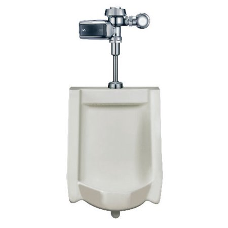 Sloan WEUS-1000.1403 High Efficiency Vitreous China Urinal with Battery Powered Sensor-Operated SMOOTH� Flushometer