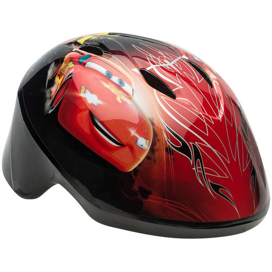 Disney Cars Toddler Helmet, Red (Design May Vary)