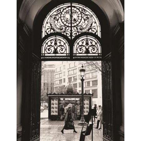 Filigree Iron Doors Poster Print by Toby Vandenack