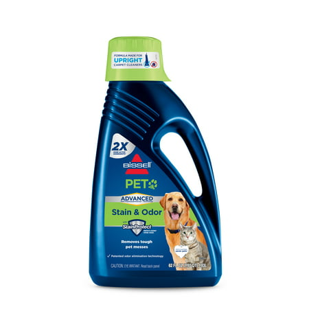 BISSELL ADVANCED PET Stain & Odor Formula for Full Size Carpet Cleaning, 62 oz, 88N2 At A-glance Pen