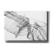 "Epic Graffiti 'Abstract Black and White 19-22-36' by Irena Orlov, Giclee Canvas Wall Art, 16""x12"""