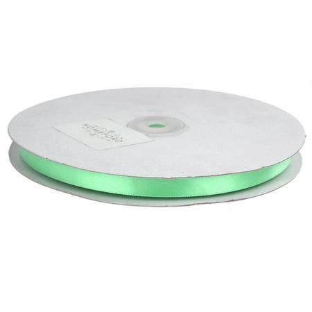 Single Face Satin Ribbon, 3/8-Inch, 50 Yards, Mint Green - Mint Green Ribbon